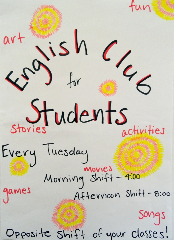 Student Flyers