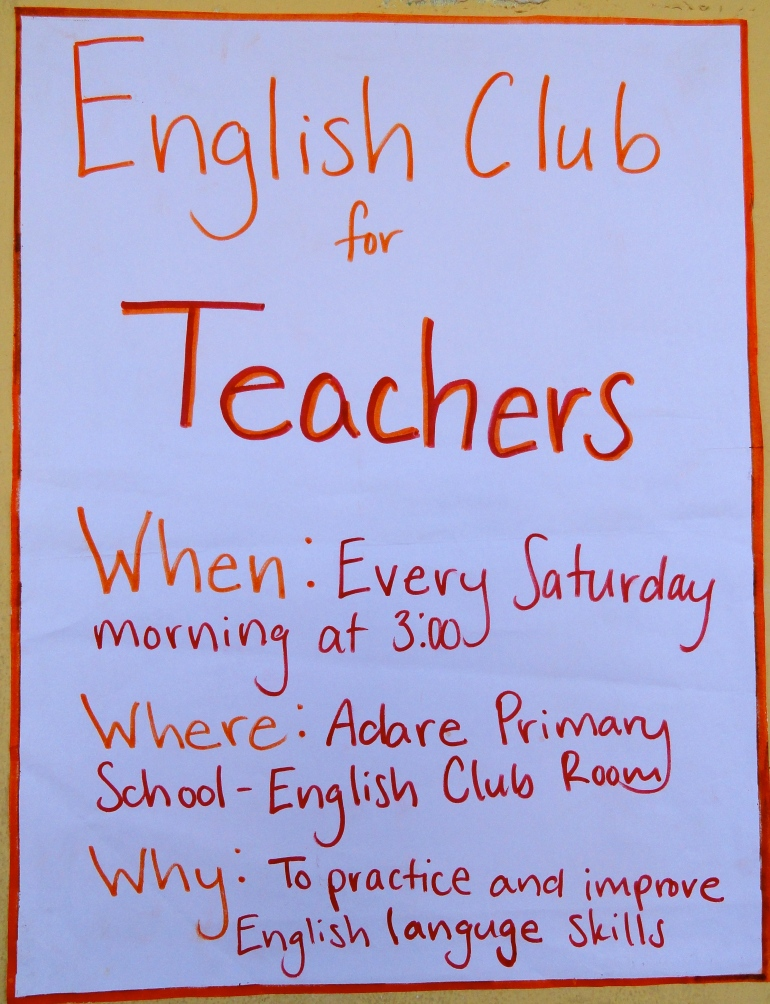 Teacher's Flyer