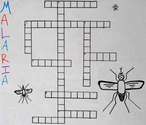 Malaria Crossword Spaces