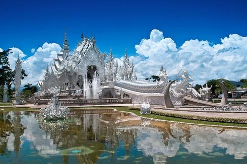Wat Rong Khun, Thailand